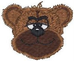Smiley Bear embroidery design
