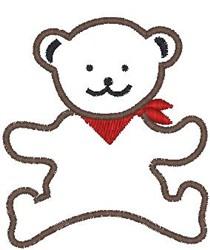 Bandana Bear embroidery design
