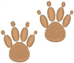 Bearpaw Prints embroidery design