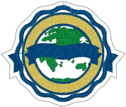 Crest 433 embroidery design