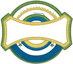 Shield70 embroidery design