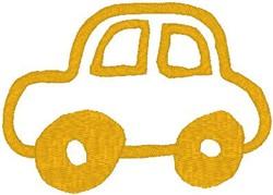 Car Outline embroidery design