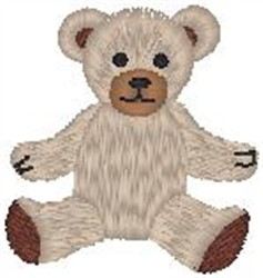 Classic Teddy embroidery design