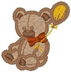 Teddy Balloon embroidery design