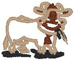Bossie The Cow embroidery design