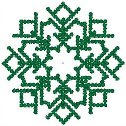 Snowflake080 embroidery design