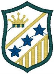 Shield107 embroidery design