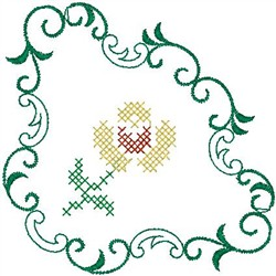 Flower Design embroidery design