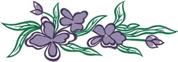 Artistic Flowers embroidery design