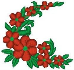 Flowery Vine embroidery design