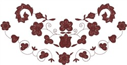 Floral Design embroidery design