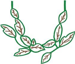 Leafy Design embroidery design