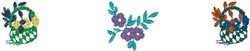 Flower Baskets embroidery design