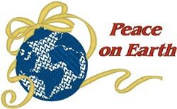 Peace on Earth embroidery design