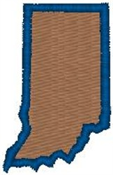 Indiana Shape embroidery design