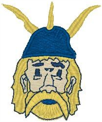 Mascot embroidery design