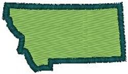 Montana Shape embroidery design