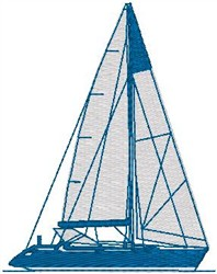 Yacht1 embroidery design