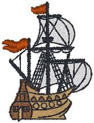 Ship90 embroidery design