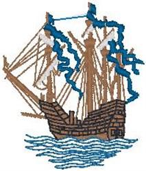 Ship91 embroidery design