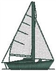 Sailboat108 embroidery design
