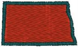 North Dakota embroidery design