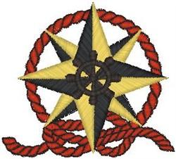 Nautical Crest040 embroidery design