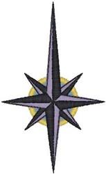 Compass Star055 embroidery design