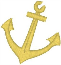 Ship Anchor embroidery design