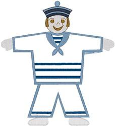 Sailor Boy embroidery design