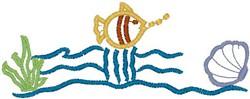 Marine Life20 embroidery design