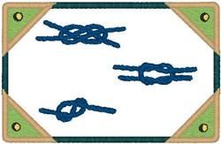 Sailor Knots embroidery design