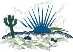 Desert Sunrise embroidery design