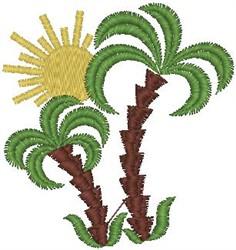 Palm Tree Design embroidery design