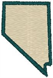 Nevada Shape embroidery design