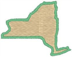 New York embroidery design