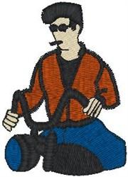 Easy Rider embroidery design
