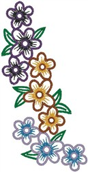 Flowers044 embroidery design