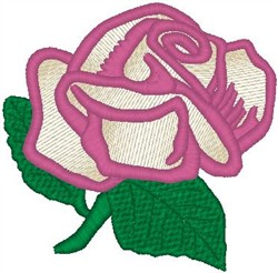 Pink and Yellow Rose embroidery design