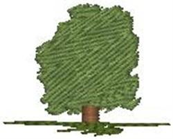 Elm Tree embroidery design