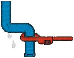 Plumber2 embroidery design
