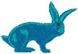 Blue Jack Rabbit embroidery design