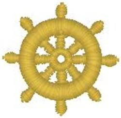 Ships Wheel073 embroidery design