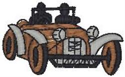 Antique Car16 embroidery design