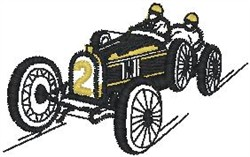 Old Racer embroidery design