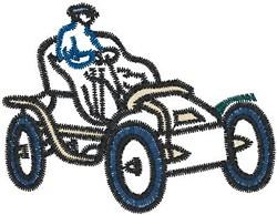 Antique Car24 embroidery design