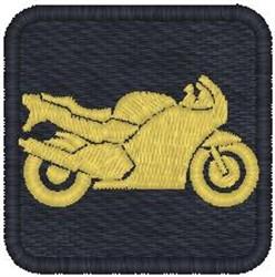 Ninja Bike embroidery design