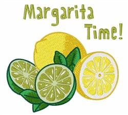 Margarita Time embroidery design