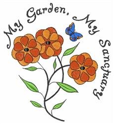 My Sanctuary embroidery design