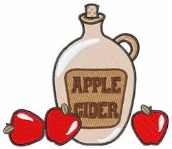 Apple Cider Jug embroidery design